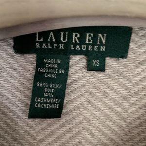 Lauren Ralph Lauren Sweaters - Ralph Lauren Cashmere Silk sweater button detail